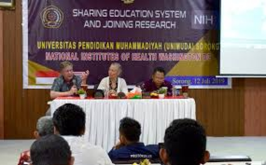 Kerjasama Riset antara UNIMUDA Sorong dan National Institutes of Health Washington DC, USA