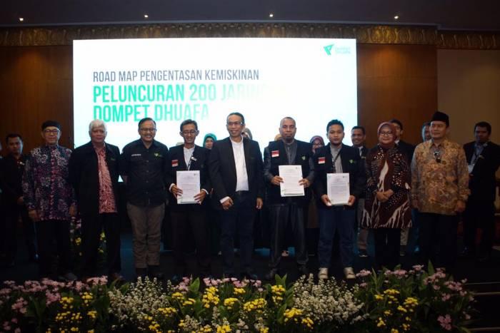 Kuatkan Filantropi, LP3M UNIMUDA Sorong Kolaborasi Bersama Dompet Dhuafa
