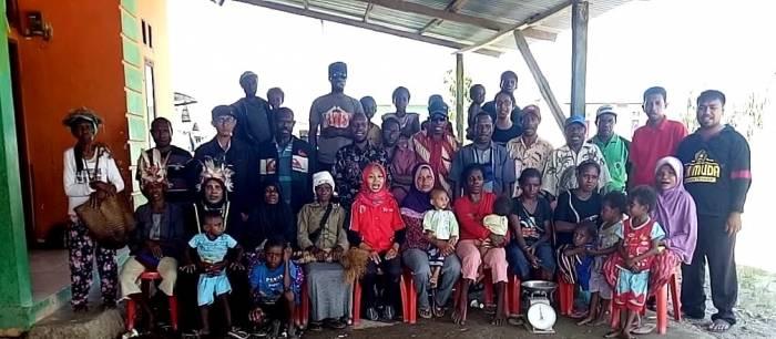 Mempererat silaturahim, LP3M UNIMUDA Mengunjungi Kampung Mitra.