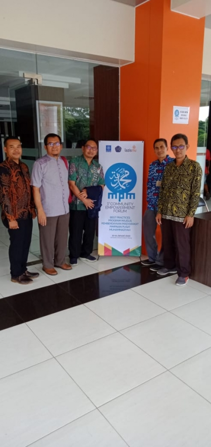 Panca Gagasan LP3M UNIMUDA Sorong dalam Forum Working Group Best Practices & Milestone MPM