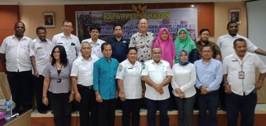 Rapat Pembahasan DELH RSUD Kabupaten Sorong, UNIMUDA Sorong Hadir Selaku Tenaga Ahli Penilai AMDAL