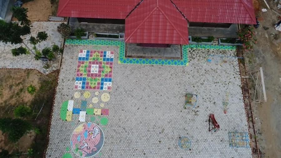 Hasil Drone PAUD Alam Mentari Sorong